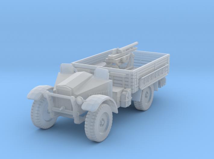 PV191C Cannone da 65/17 Gun Truck (1/87) 3d printed