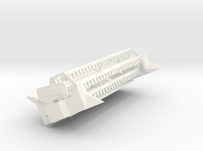 L/M 15 Foot Flex Header 3d printed