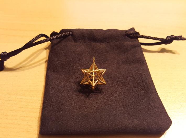 Pendant_Pentagram-Dodecahedron 3d printed