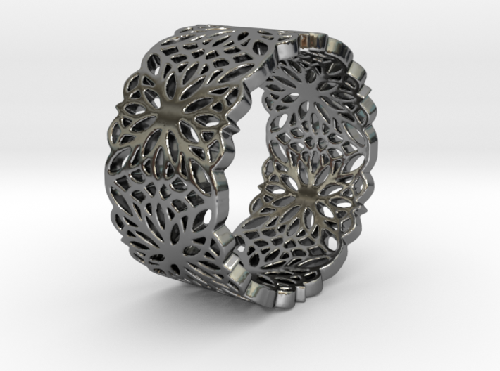 FAVORITE LACE Ring Design Ring Size 8.75 3d printed