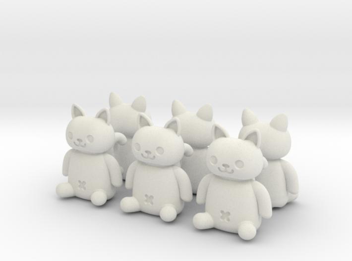 Cat Valve Cap [4+2 pieces set for CAR] 3d printed