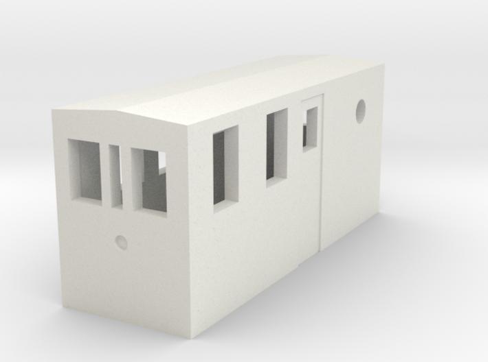 HOn30 Gas electric boxcab 3d printed