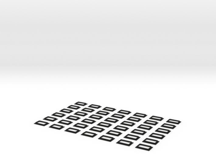 Railjetfenster Scale TT 3d printed