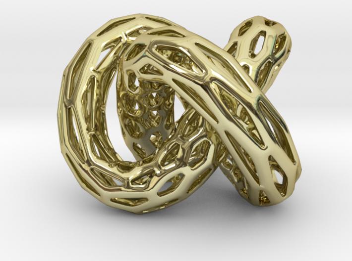 DRAGON TALES Strutura, Pendant Thick 3d printed
