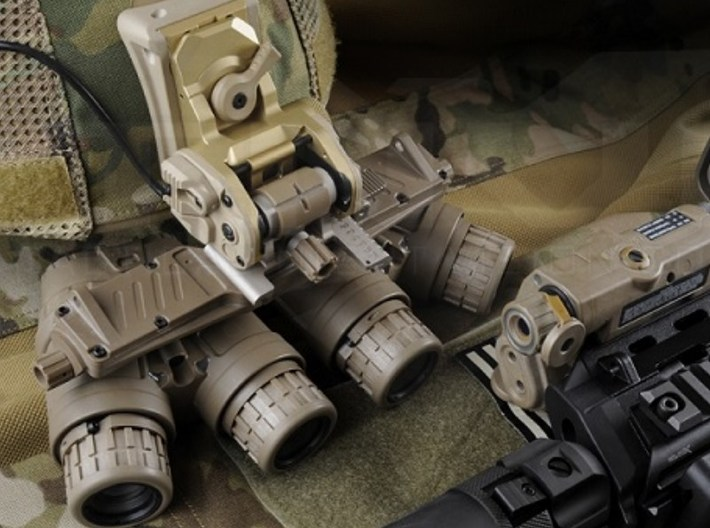 1/16 scale SOCOM NVG-18 night vision goggles x 1 3d printed