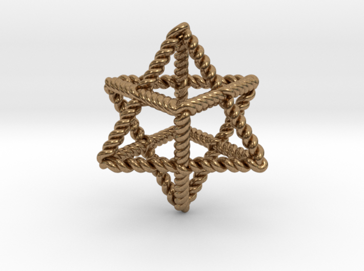 "Star Twistahedron 1.6+"" 3d printed"