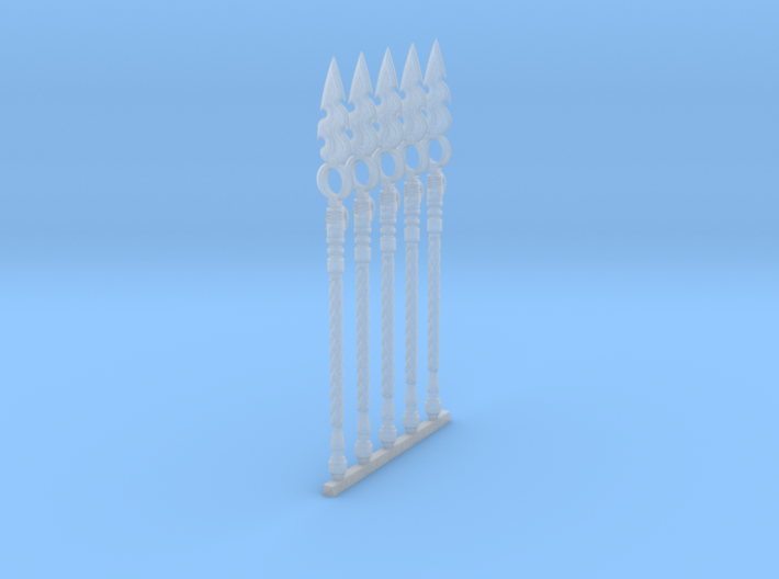 Techno-Spear 003a (x5) 3d printed