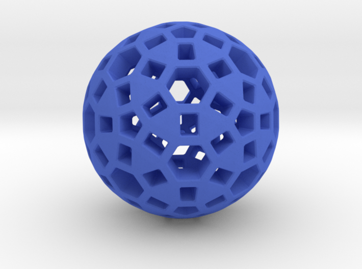 Spherical 3d printed