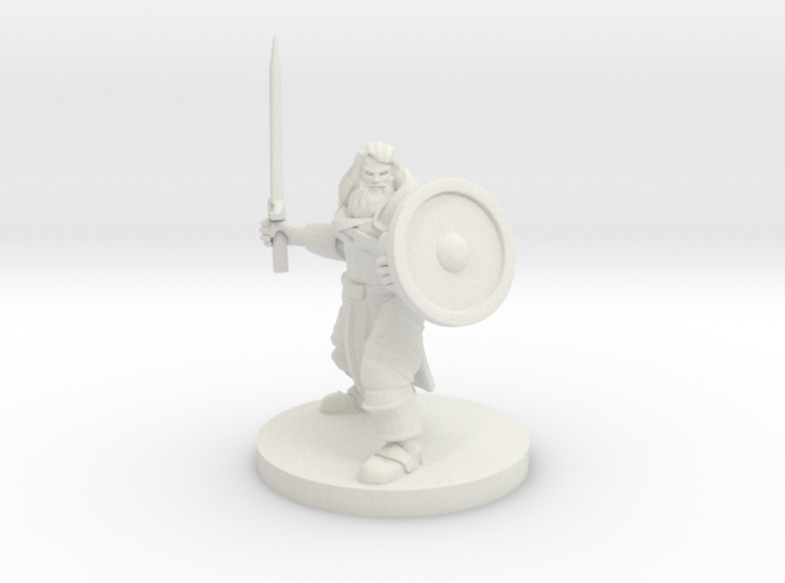 Cleric of Temptest 3d printed