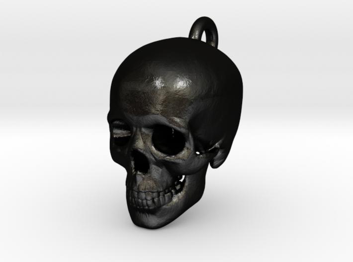 Skull Pendant 3d printed