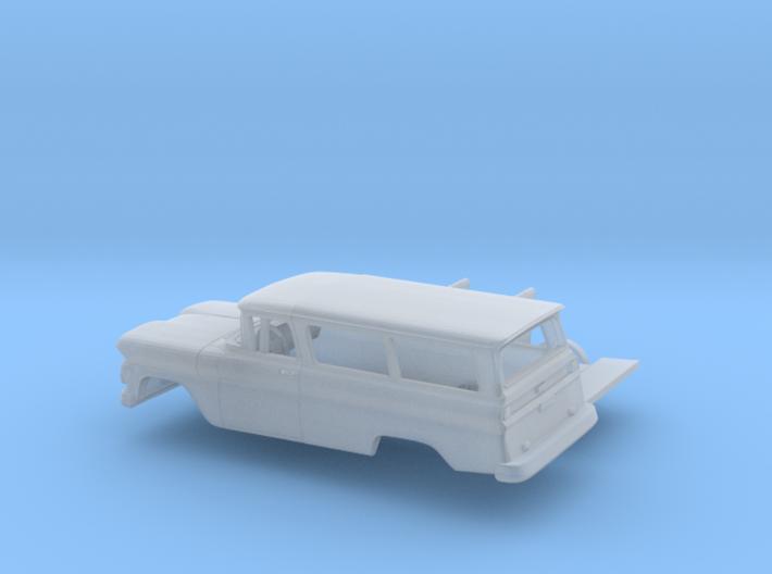 1/160 1960/61 Chevrolet Suburban Kit 3d printed