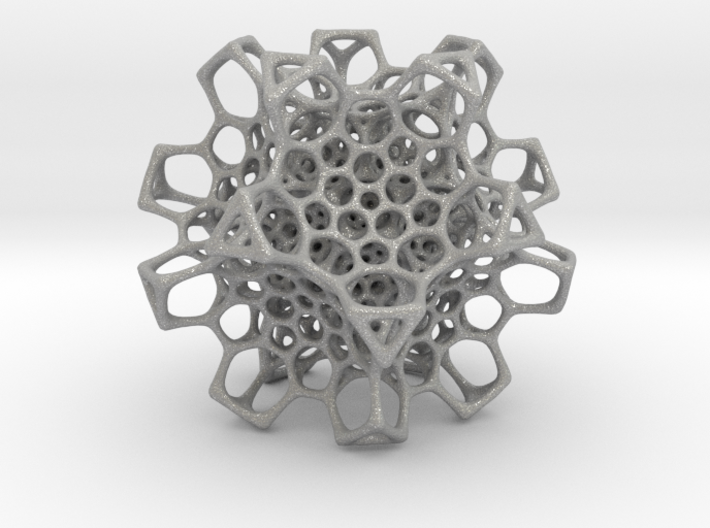 Christmas tree decoration ornament - 120cell_B2_r5 3d printed