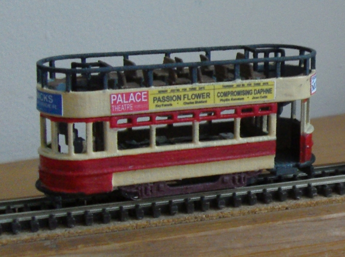 3mm scale Thanet Tram 3d printed