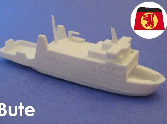 MV Bute (1:1200) 3d printed 1:1200 scale model of the Caledonian MacBrayne Ferry Bute