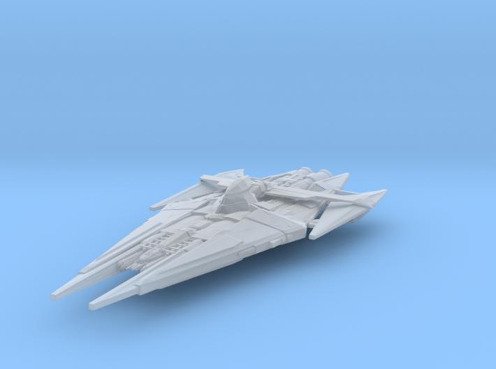 Narn G'Kar-class Advanced Battlecruiser 78mm 3d printed