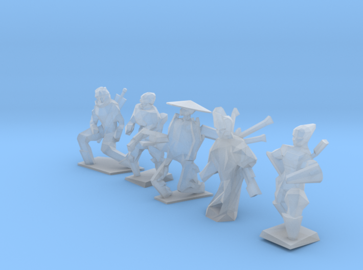 A.I. Collection 3d printed