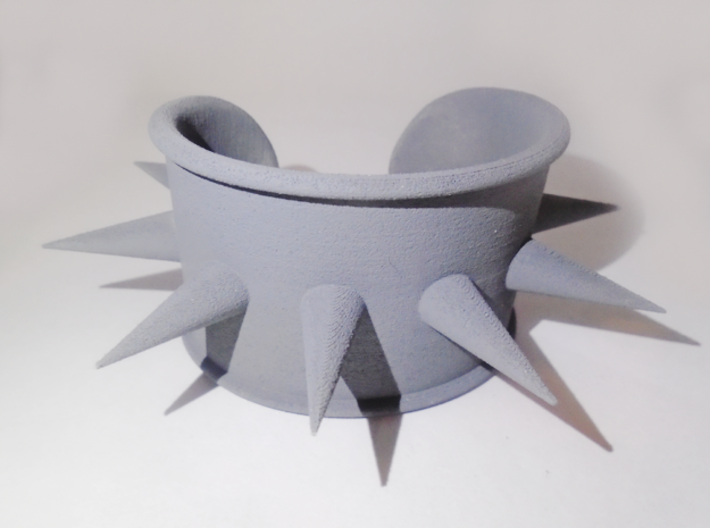 Harley Quinn Cosplay Spike Cuff 3d printed First print after priming