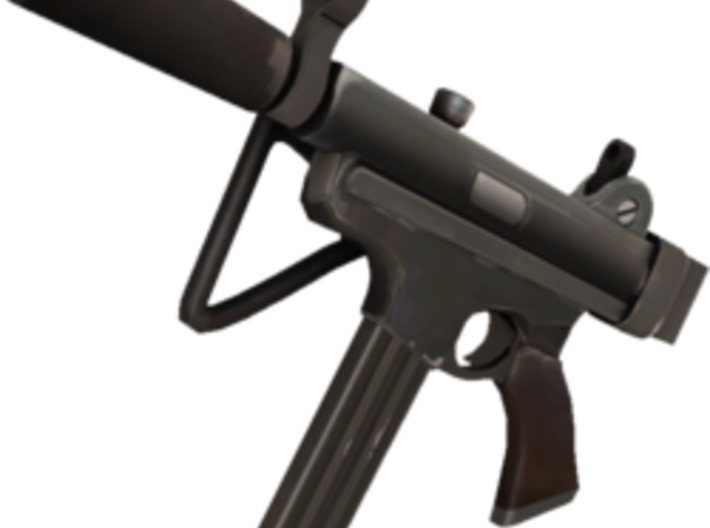 TF2 Cleaner's Carbine Airsoft Silencer (14mm Self- 3d printed