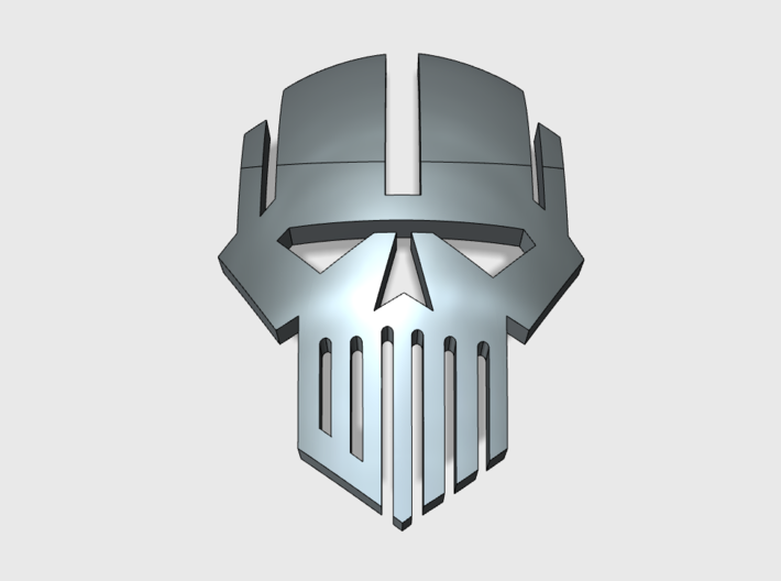60x Iron Heads : Shoulder Insignia pack 3d printed