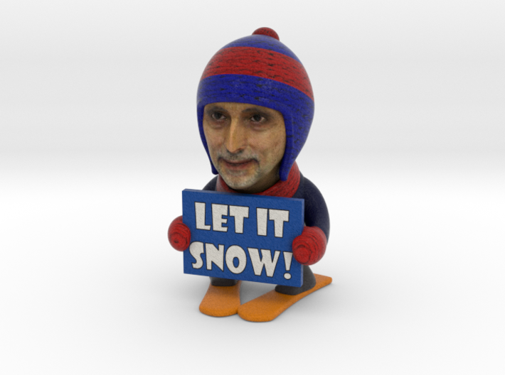 The SnowManny 3d printed