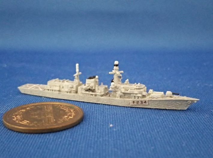 1/2000 HMS Iron Duke 3d printed painted and decal