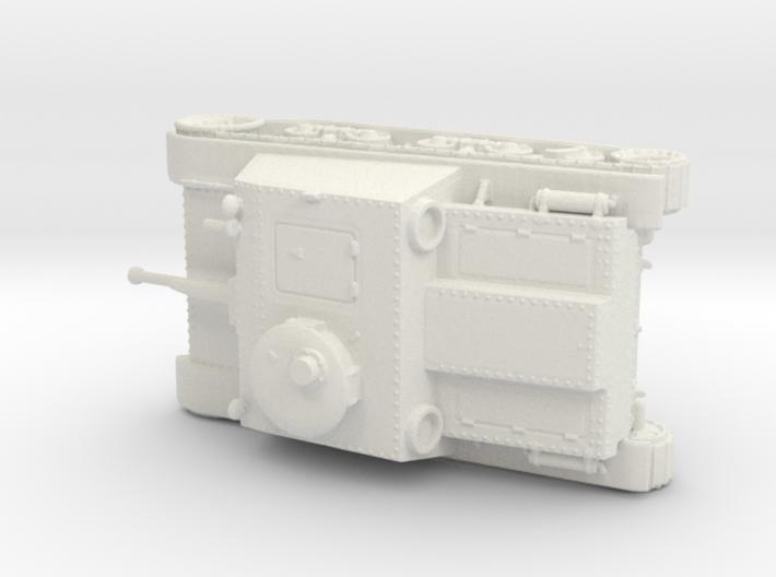 1/72nd scale Skoda T-32 S.I.D. 3d printed