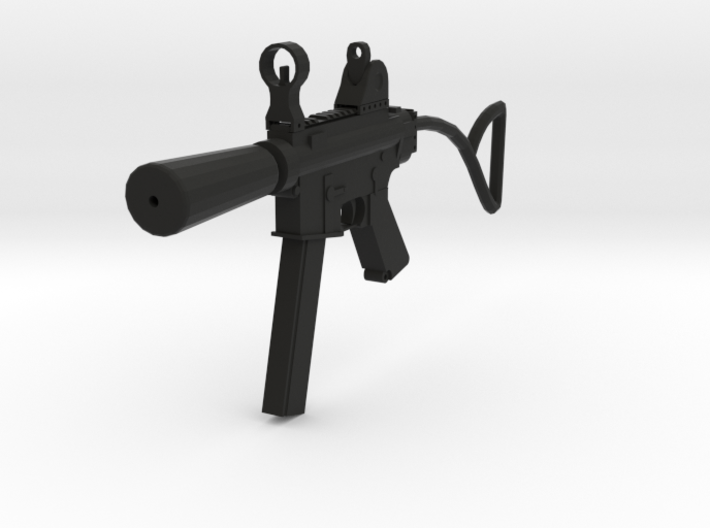 TF2 Cleaner's Carbine Airsoft Gun 3d printed