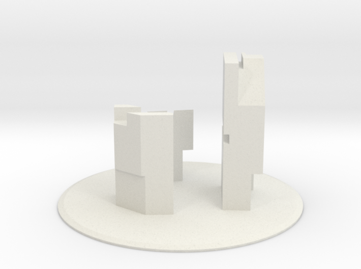 "SI-01: ""Interiority"" by QSPACE 3d printed"