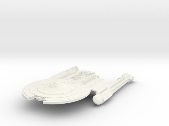 Mckee Class VII  BattleCruiser 3d printed