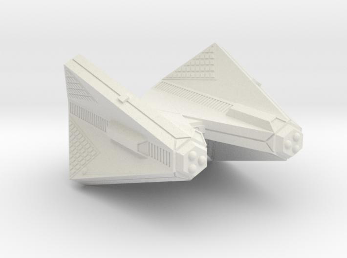 3125 Scale Tholian Command Cruiser (CC) SRZ 3d printed
