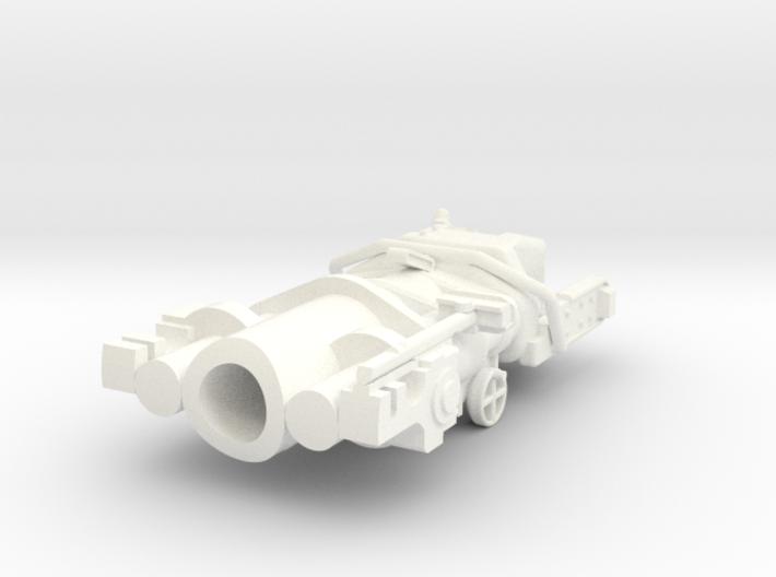 1-16 M10 Gun block 3d printed