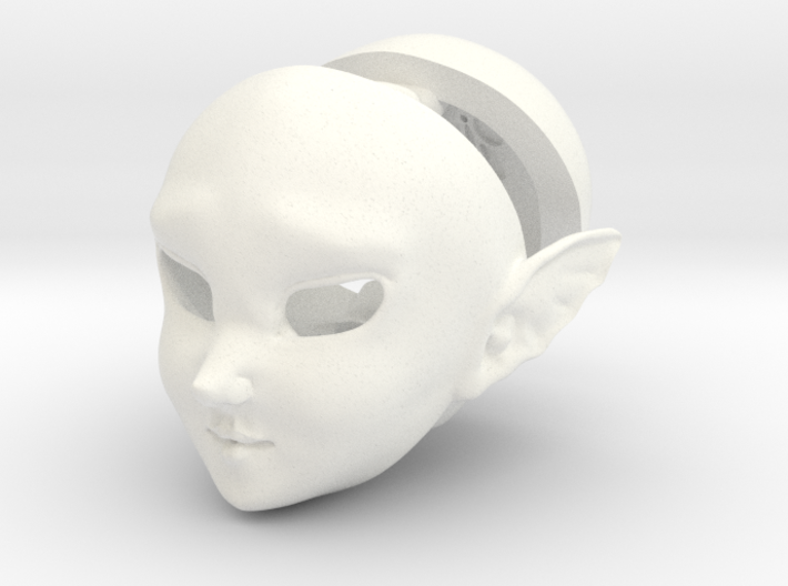 BJD Sprite Head: Ylva 3d printed