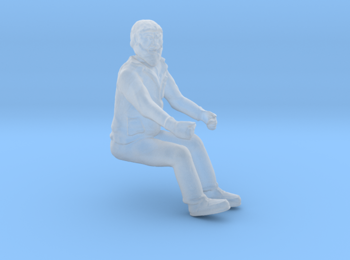 Equipment OPERATOR SEATED O Scale 3d printed