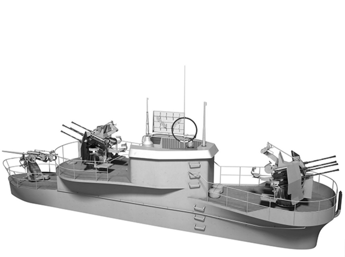 1/144 U-Boot U-441 Conning Tower 3d printed