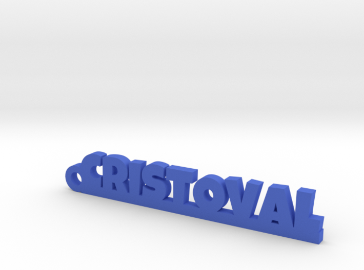 CRISTOVAL_keychain_Lucky 3d printed