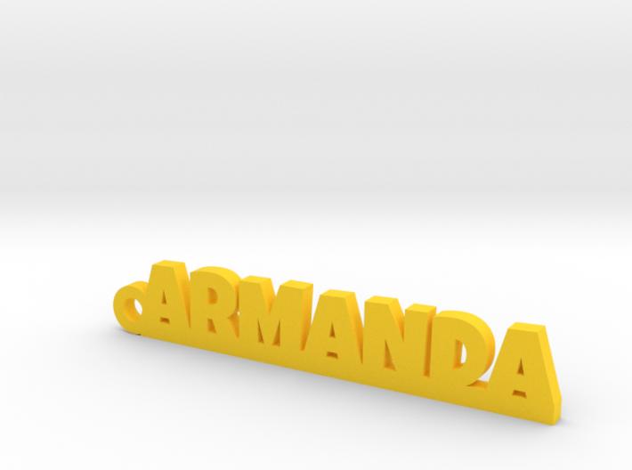 ARMANDA_keychain_Lucky 3d printed