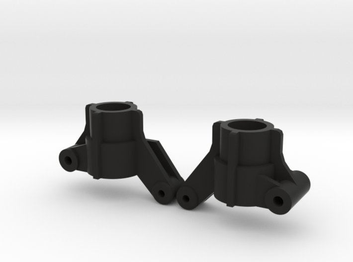 Top Force Rear Knuckles 2 degrees toe-in (TA02) 3d printed