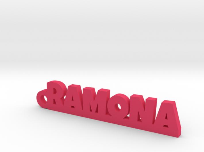 RAMONA_keychain_Lucky 3d printed