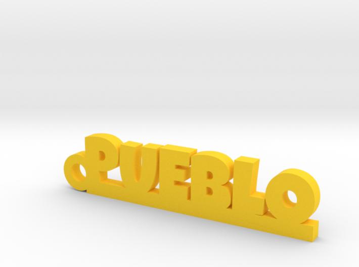PUEBLO_keychain_Lucky 3d printed