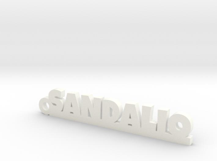 SANDALIO_keychain_Lucky 3d printed