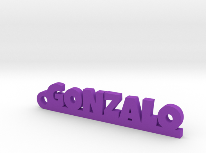 GONZALO_keychain_Lucky 3d printed