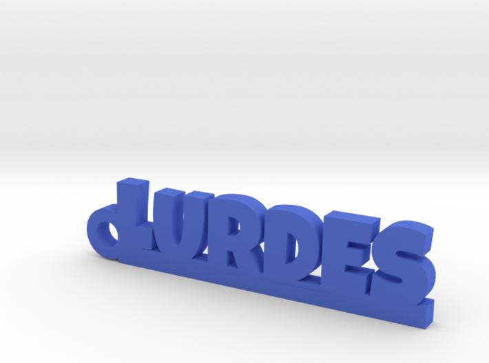 LURDES_keychain_Lucky 3d printed
