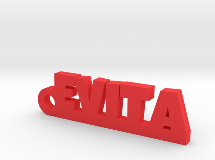 EVITA_keychain_Lucky 3d printed