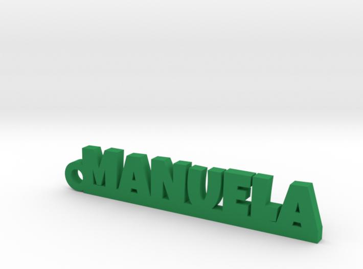 MANUELA_keychain_Lucky 3d printed