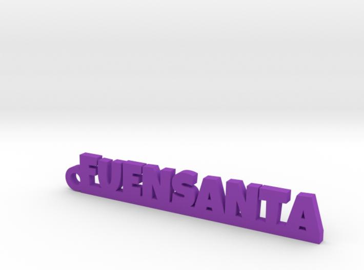 FUENSANTA_keychain_Lucky 3d printed