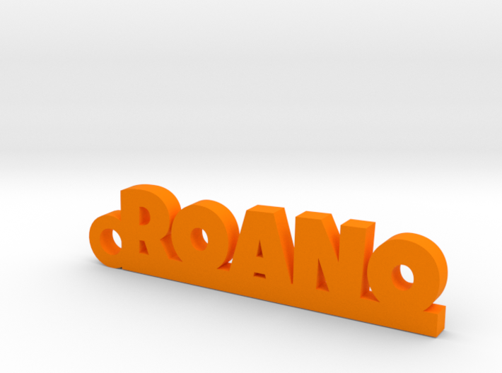 ROANO_keychain_Lucky 3d printed