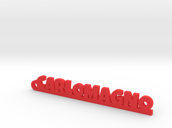 CARLOMAGNO_keychain_Lucky 3d printed