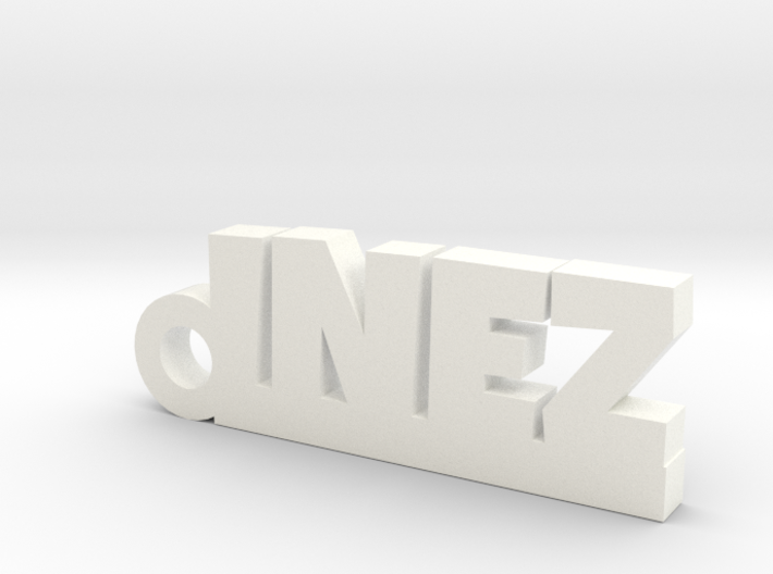 INEZ_keychain_Lucky 3d printed