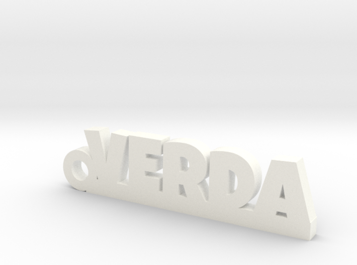 VERDA_keychain_Lucky 3d printed