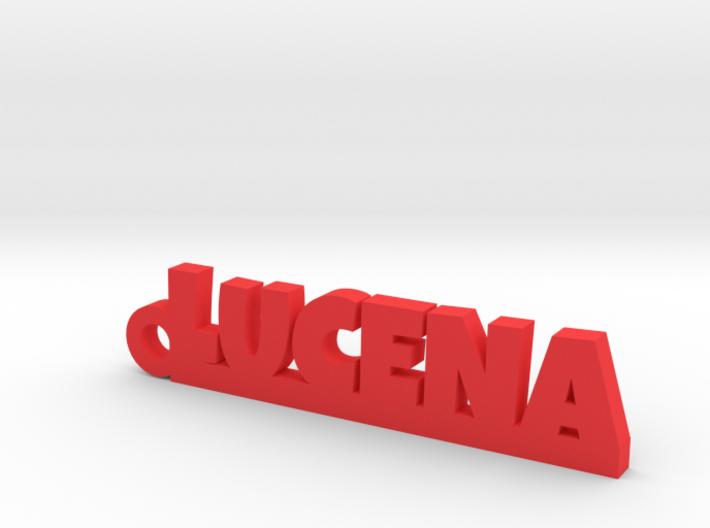 LUCENA_keychain_Lucky 3d printed